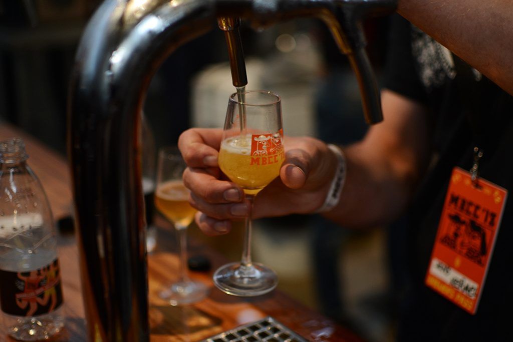 The Kernel brewery pouring at Mikkeller Beer Celebration Copenhagen 2018, by We Are BEER